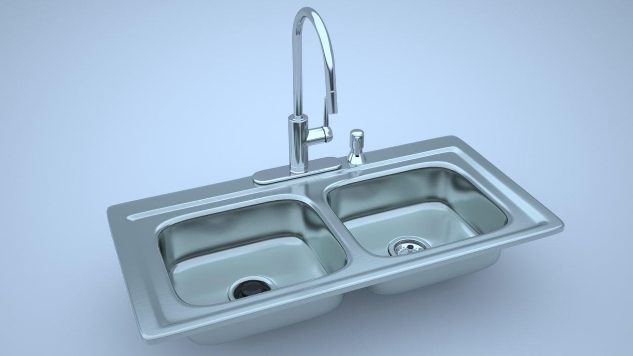 obj stainless steel kitchen sink
