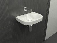 3d small washbasin model