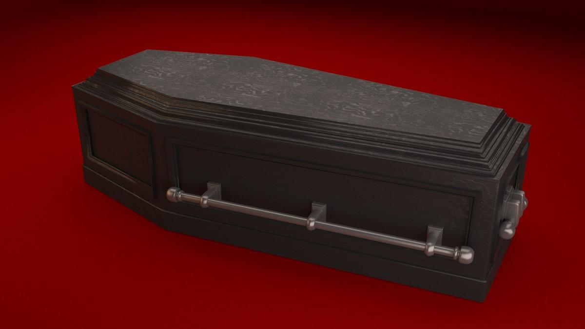 coffin creepy max