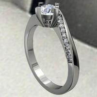 3d jewelry ring model