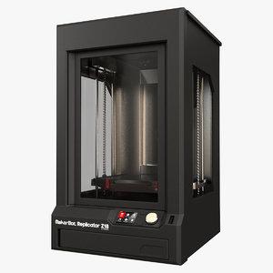 3d makerbot z18 model