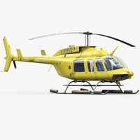 Bell 206L Emergency Helicopter