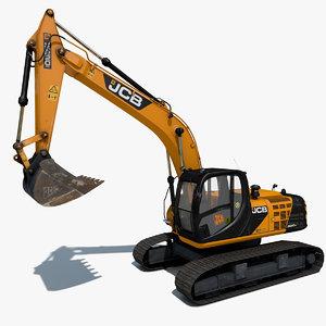 c4d excavator js220 sc