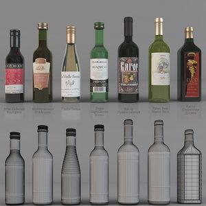bottle wine 3ds