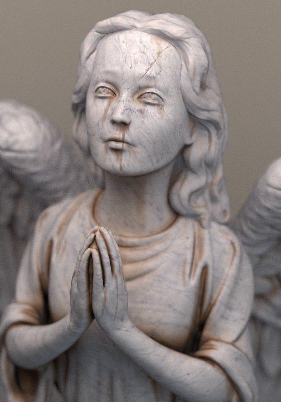 sculpture marble 3d model