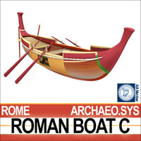 Ancient Roman Boat C