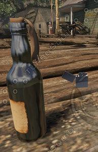 Molotov Cocktail + Lighter