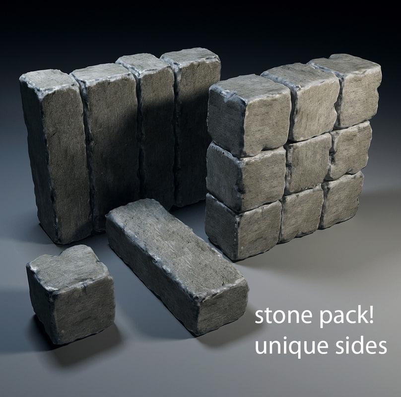 stone 3d max