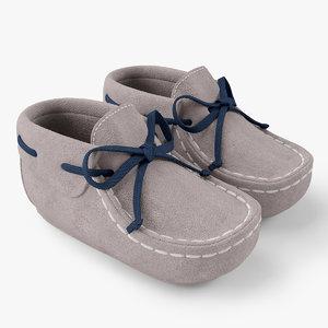 3ds max shoes newborn bootie