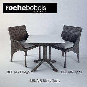 max bel air chair table