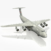 c-5 galaxy usaf patriot 3d model