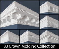 30 Crown Molding Collection