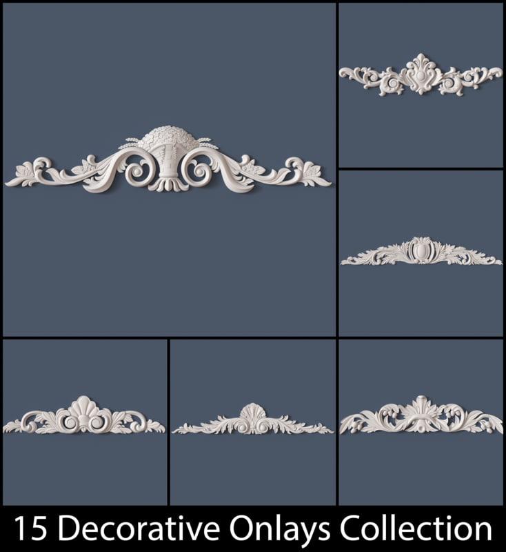 decorative onlay max
