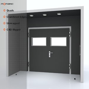 c4d hall door