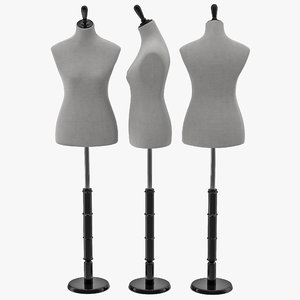 sewing dummy 3d max