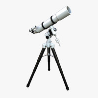 telescope scope 3d max