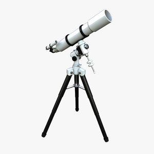telescope scope 3d max