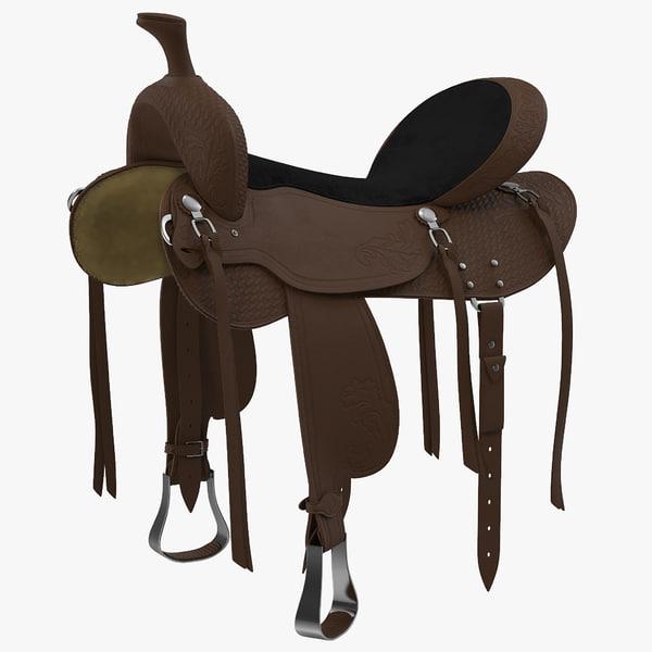 3d saddle 4 model
