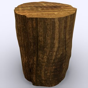 tree stump fbx