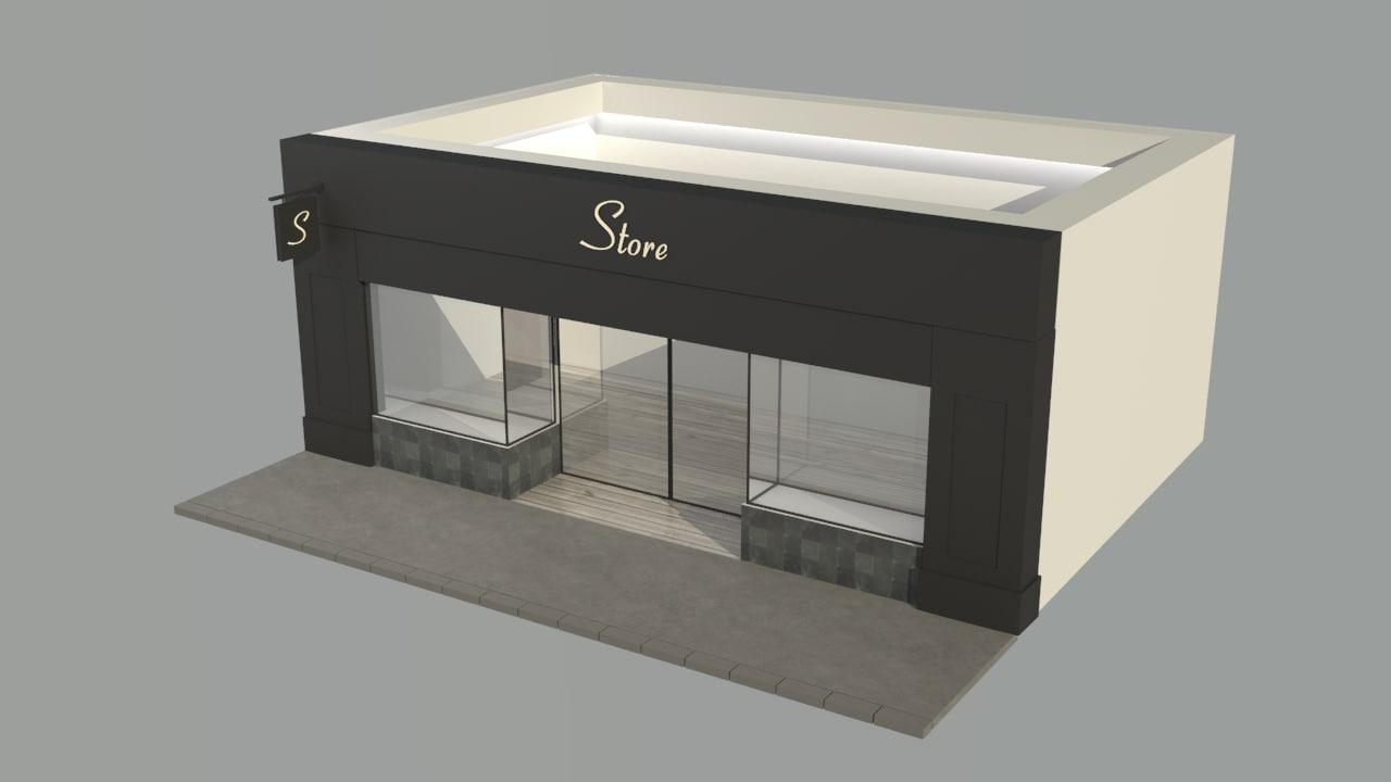 shop v4 3d model