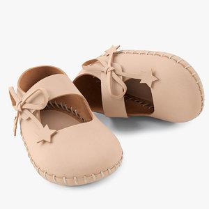 3d shoes ballerina