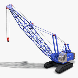 c4d crawler crane rdk-36
