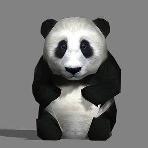 adorable panda baby 3d 3ds
