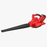 3d leaf blower red generic