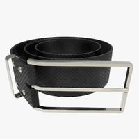 3d buckle belt