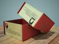 3d dirty little box model