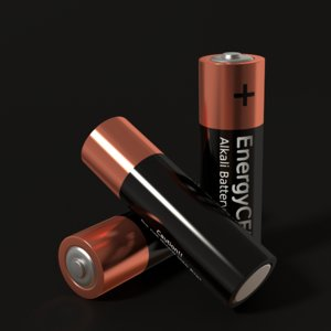 3ds max aa battery