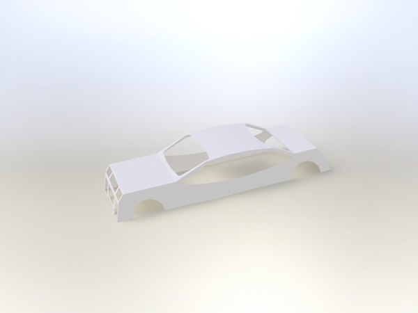 3ds max car body