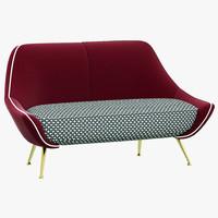 baxter mio sofa 3ds