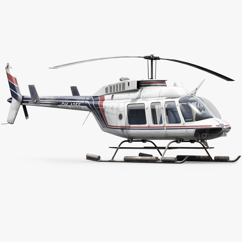3ds max helicopter bell