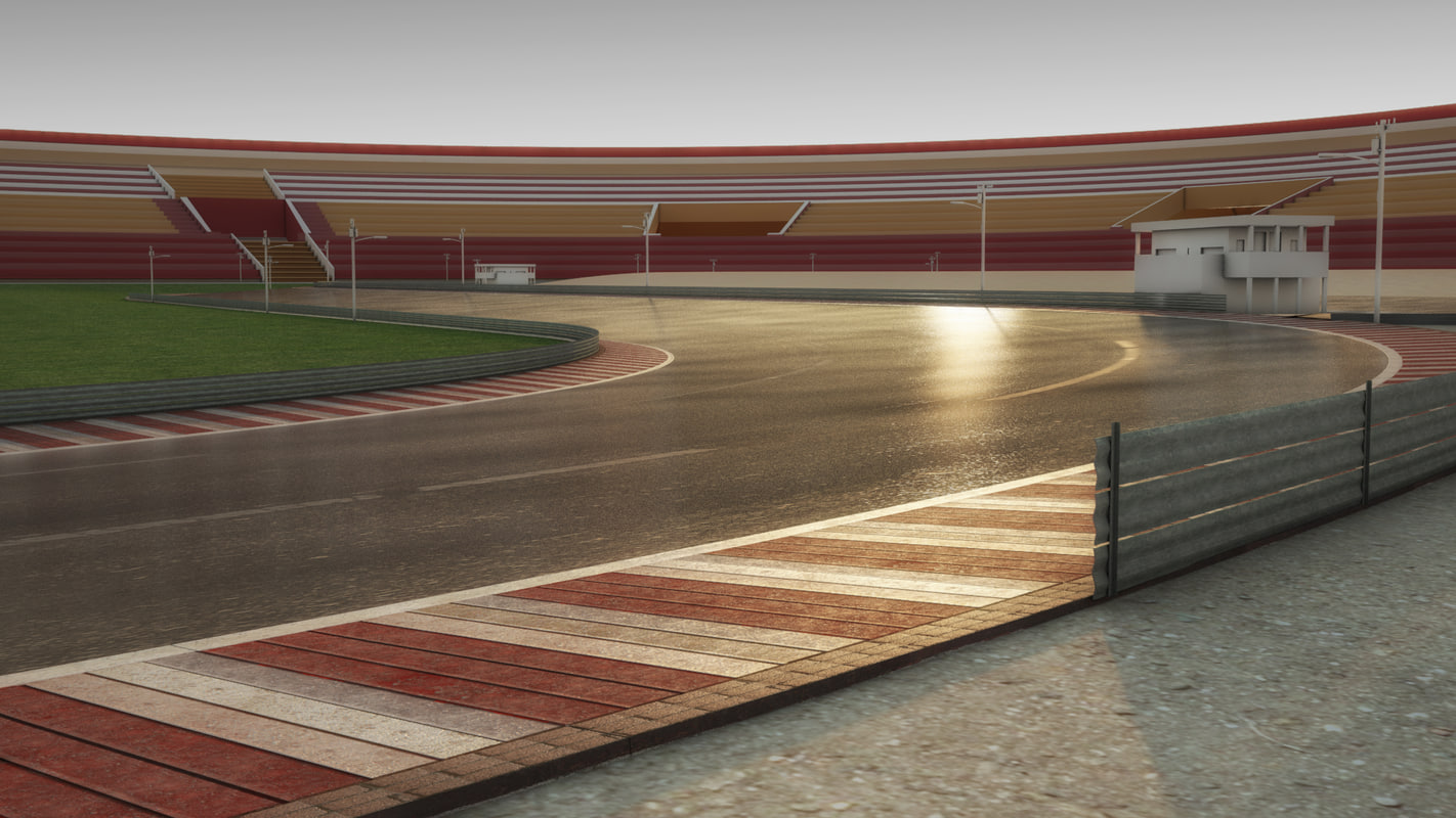 car racing track 3ds