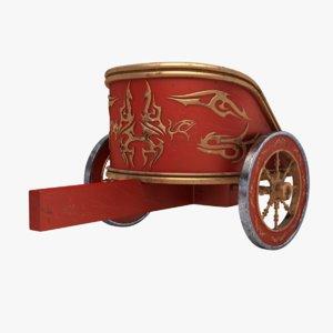 3d obj chariot scratches