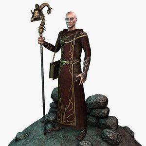 3d model warlock gen realtime
