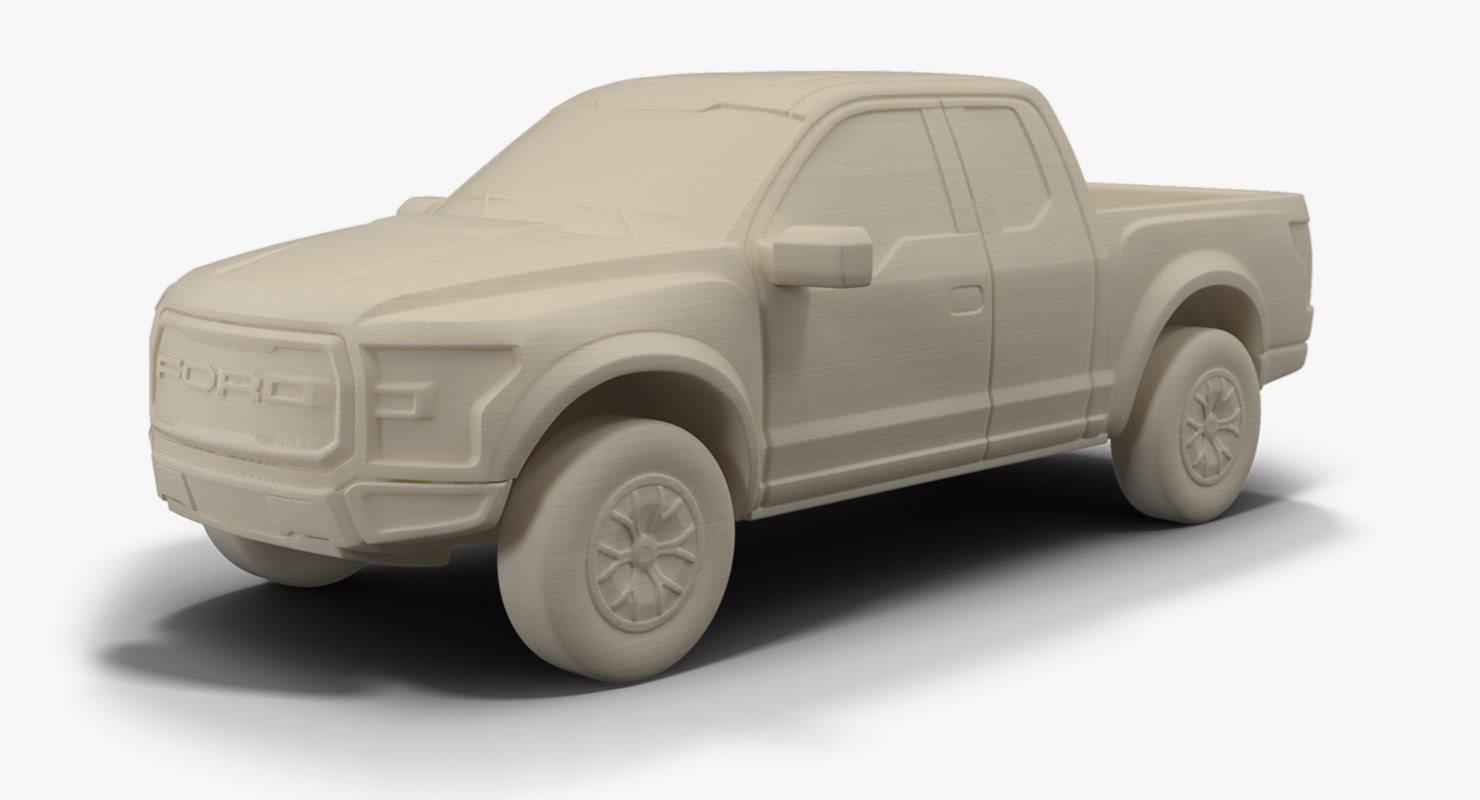 3ds all-new f-150 raptor stl