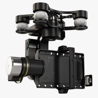 DJI Zenmuse H4-3D gimbal for GoPro Hero3-4