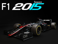 F1 McLaren Honda MP4-30 2015 update