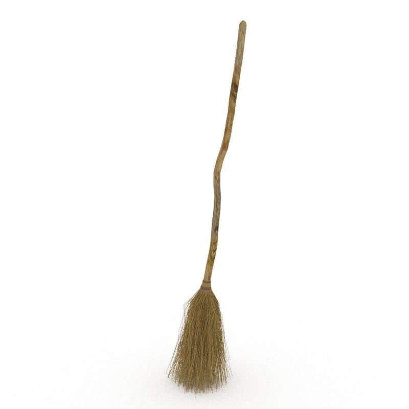 besom broom equipment 3ds