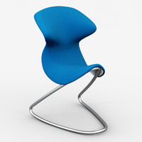 oyo cantilever chair 3d model
