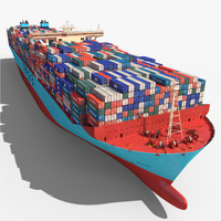 Triple E Class Container Ship