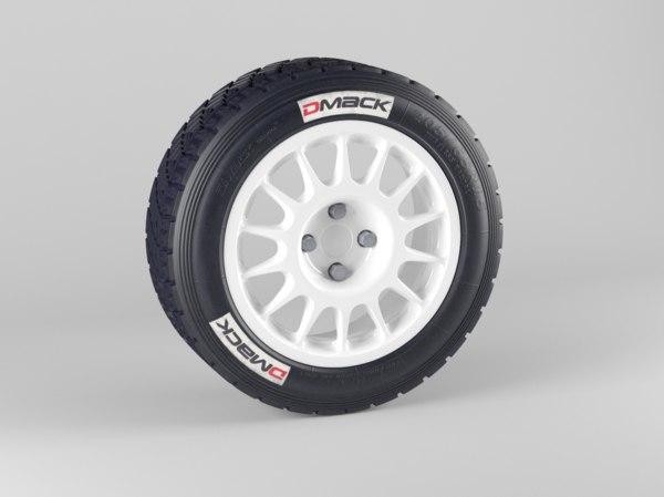 3d speedline wheel tyre