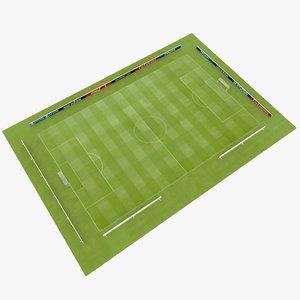 soccer stadium 3d 3ds