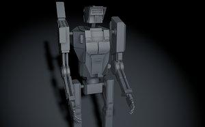 c4d robot weapons