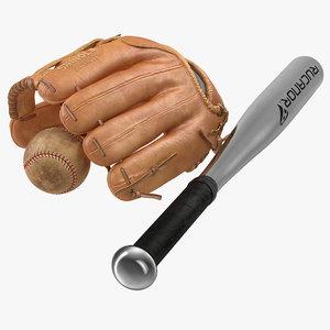 3d baseball ball