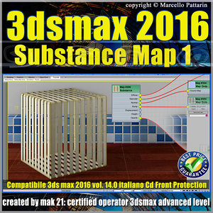 014 3ds max 2016 Substance Map volume 14.0_cd front