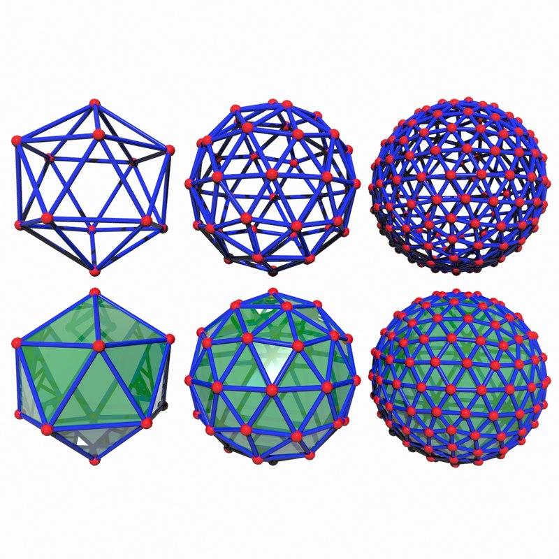 3d nano object pack model