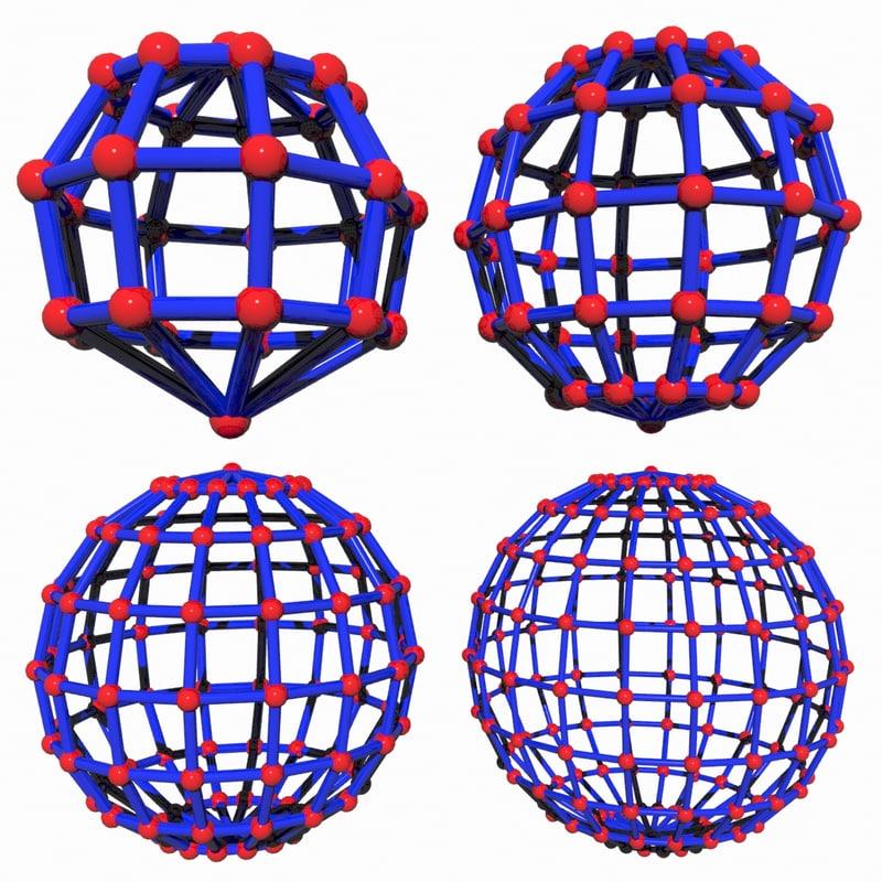 3d model of nano object pack